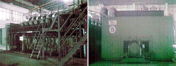 6 X Used Sulzer 16 ZAV 40 S 11520Kw 50Hz 10 5KV HFO Generator Sets