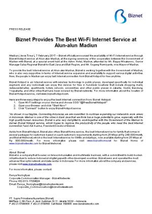 Biznet Provides the Best Wi-Fi Internet Service At