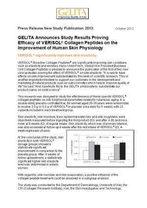 GELITA Collagen Proteins Provide Indulgence and Reduced Calorie Load