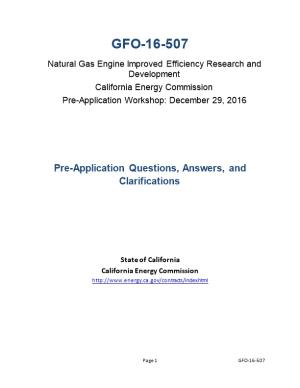 Natural Gas Engine Improved Efficiency Research and Development
