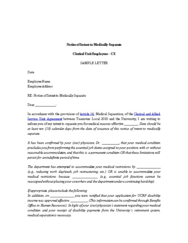 Letter Of Intent For Employee from data.docslib.org