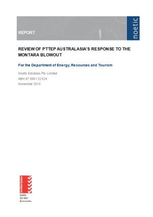 Review of PTTEP Australasia's Response to the Montara Blowout