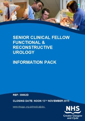 Senior Clinical Fellow